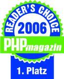 PHP Magazin Reader's Choice Award 2006
